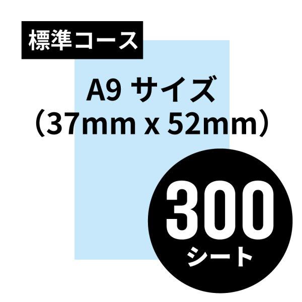画像1: 標準コース A9サイズ(37mm x 52mm)300シート (1)